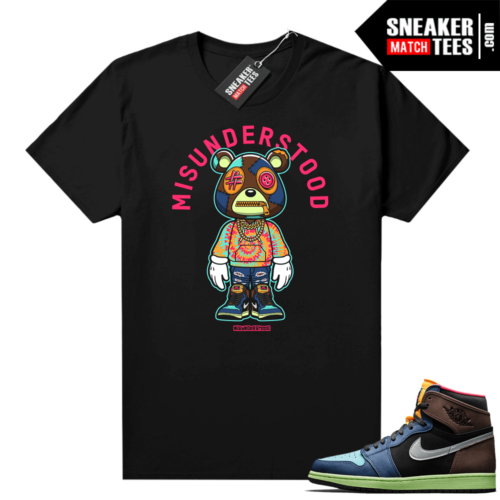 Misunderstood Bear ™ Toon Bio hack 1s match tee