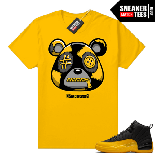 Misunderstood Bear ™ University Gold 12s Match Tees Gold