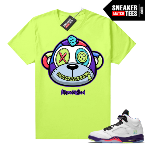 Misunderstood Monkey Bel Air 5s Volt shirt