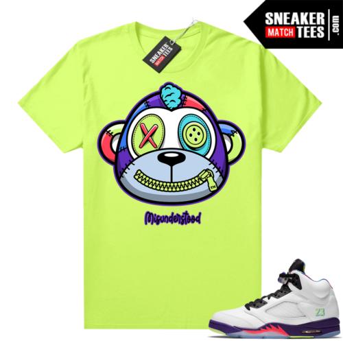 Misunderstood Monkey Bel Air 5s Volt shirt