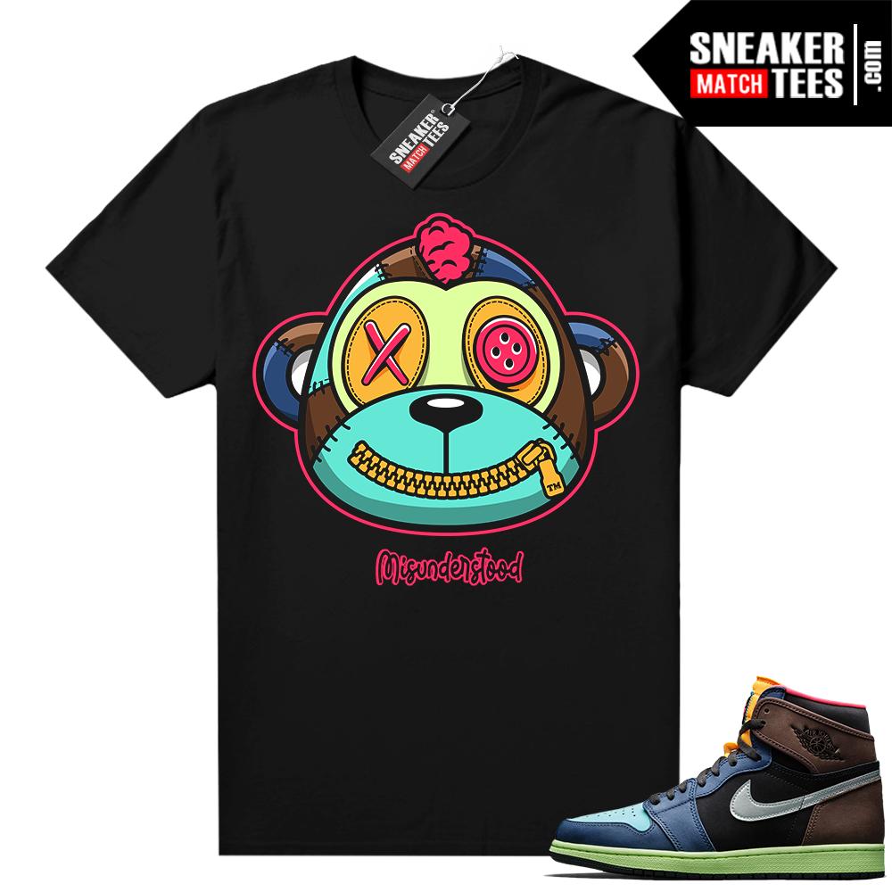 Misunderstood Monkey Biohack 1s Black Shirt