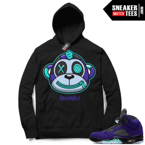 Misunderstood Monkey Grape 5s Black Hoodie
