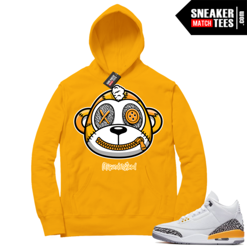 Misunderstood Monkey Laser Orange 13s Gold Hoodie