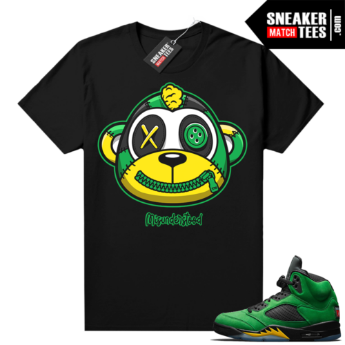 Misunderstood Monkey Oregon 5s Black Shirt