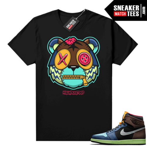 Misunderstood Tiger ™ Biohack 1s Black Sneaker Match Tees