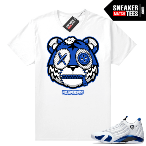 Misunderstood Tiger ™ Hyper Royal 14s Sneaker Match Tees