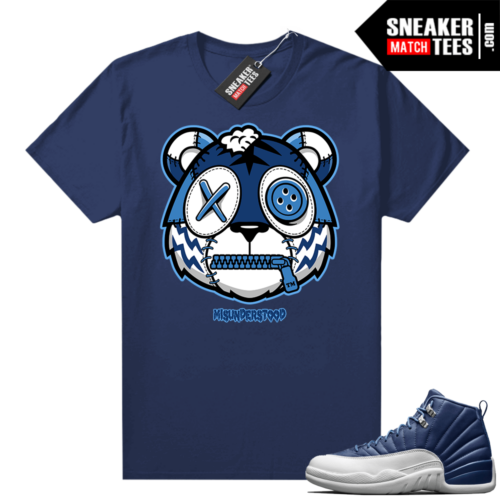 Misunderstood Tiger ™ Indigo 12s Navy Sneaker Match Tees