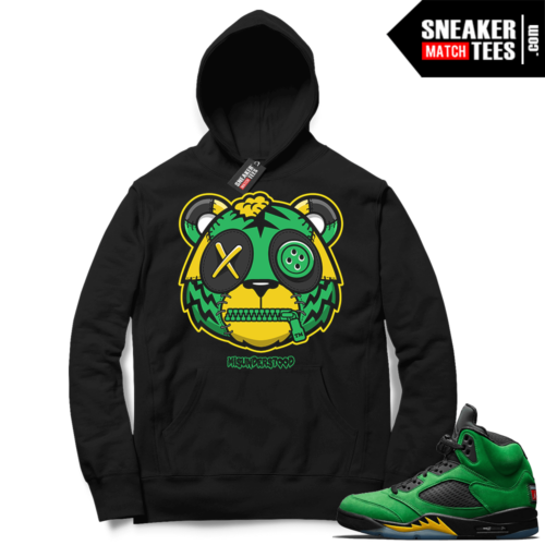 Misunderstood Tiger ™ Oregon 5s Black Hoodie