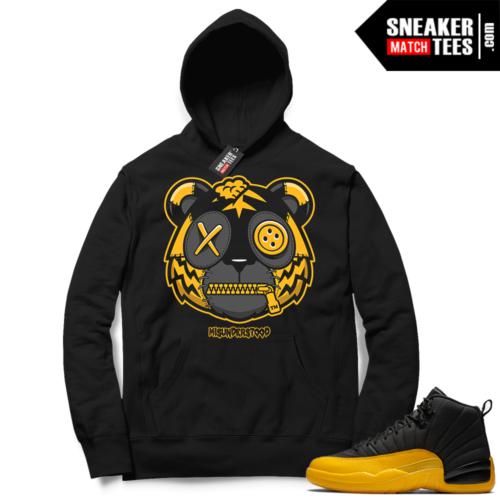 Misunderstood Tiger ™ University Gold 12s Black Hoodie
