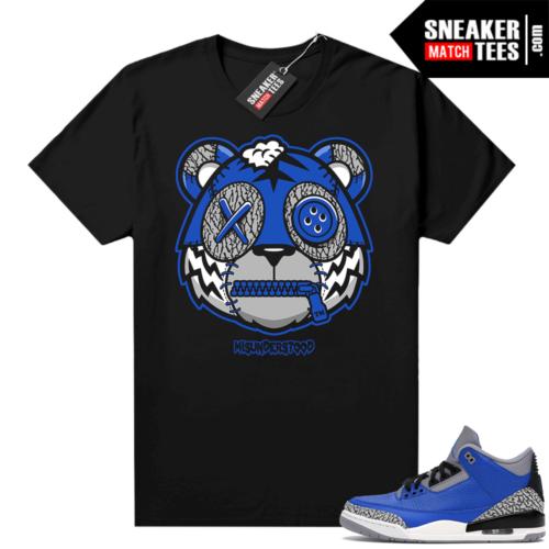 Misunderstood Tiger ™ Varsity Blue 3s Black Sneaker Match Tees