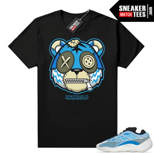 Misunderstood Tiger ™ Yeezy 700 V3 Arzareth Black Sneaker Match Tees
