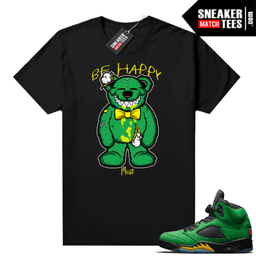 Retro 5 Oregon graphic tees
