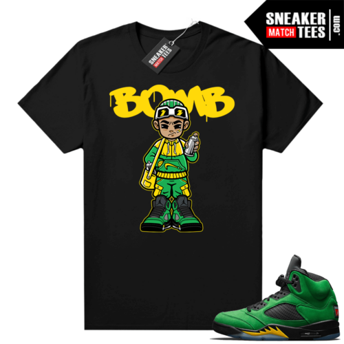 Apple Green 5s matching graphic tees