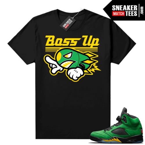 Match Air Jordan 5 Apple Green
