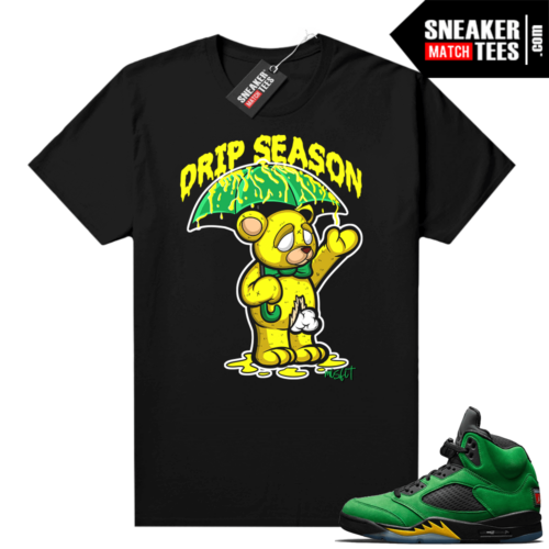 Retro 5 Oregon sneaker tees