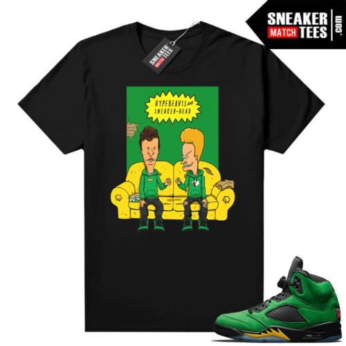 Jordan 5 Oregon sneaker tee