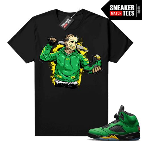 Apple Green Jordan match shirts