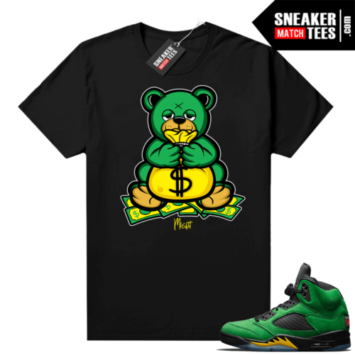 Air Jordan retro 5 Oregon graphic tees