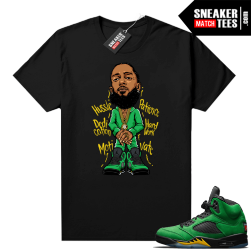 Apple Green 5s matching shirts