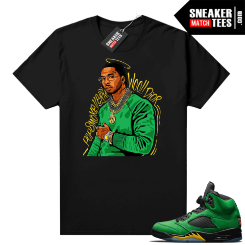 Sneaker tees Apple Green 5s