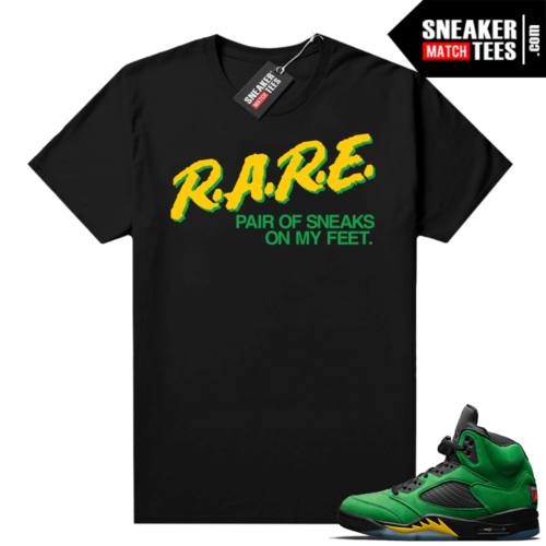 Oregon 5s matching shirt
