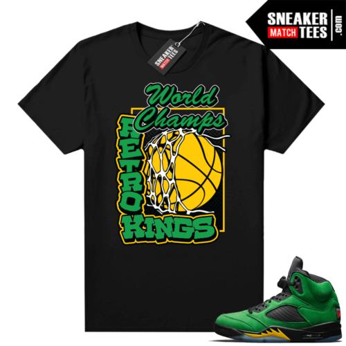 Oregon 5s shirt to match