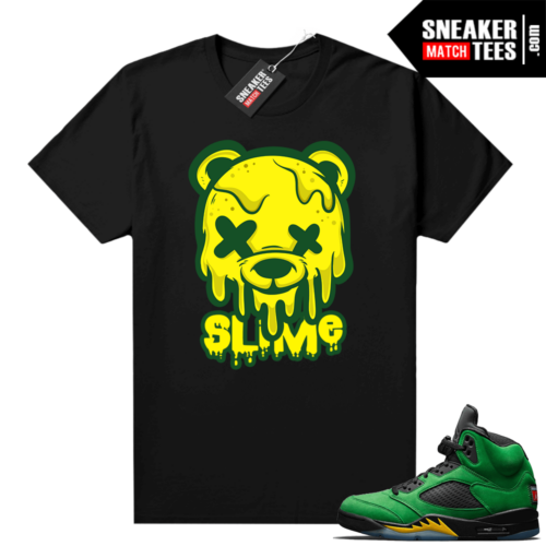 Oregon Jordan retro 5 shirts