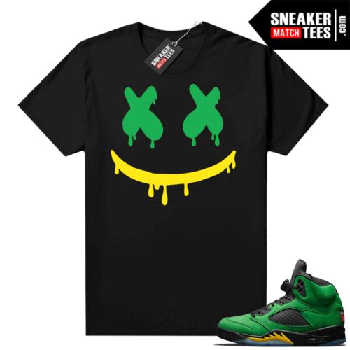 Jordan retro 5 Oregon shirts to match