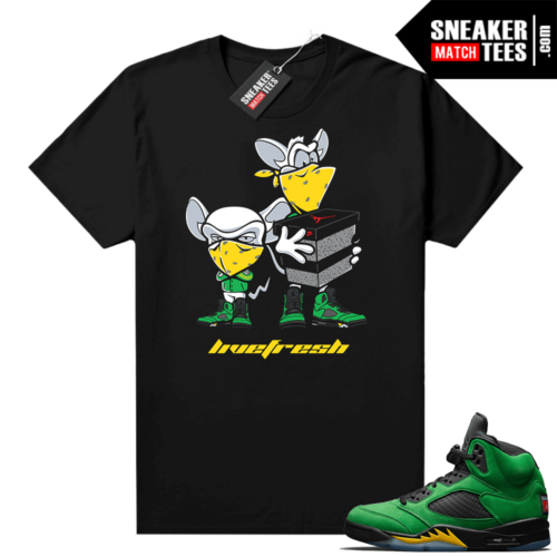 Sneaker Match Apple Green 5s