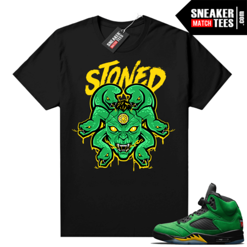 Apple Green 5s match graphic tees