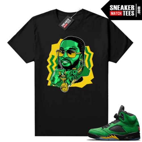 Sneaker shirts Apple Green 5s