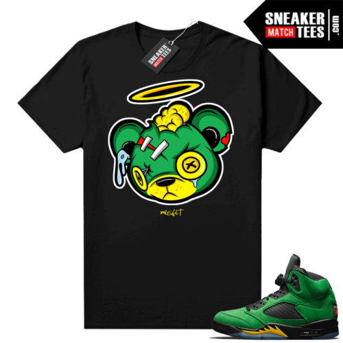 Air Jordan retro 5 Oregon matching shirts