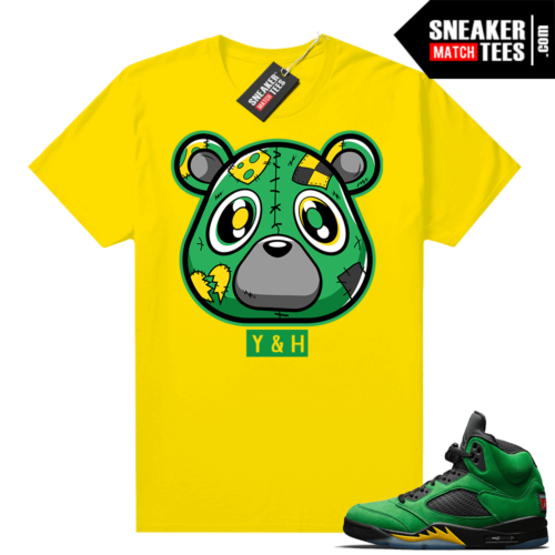 Match Air Jordan 5 Oregon