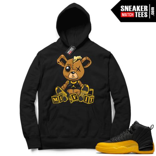 University Gold 12s matching Hoodies