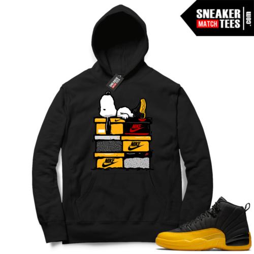University Gold 12s sneaker Hoodies