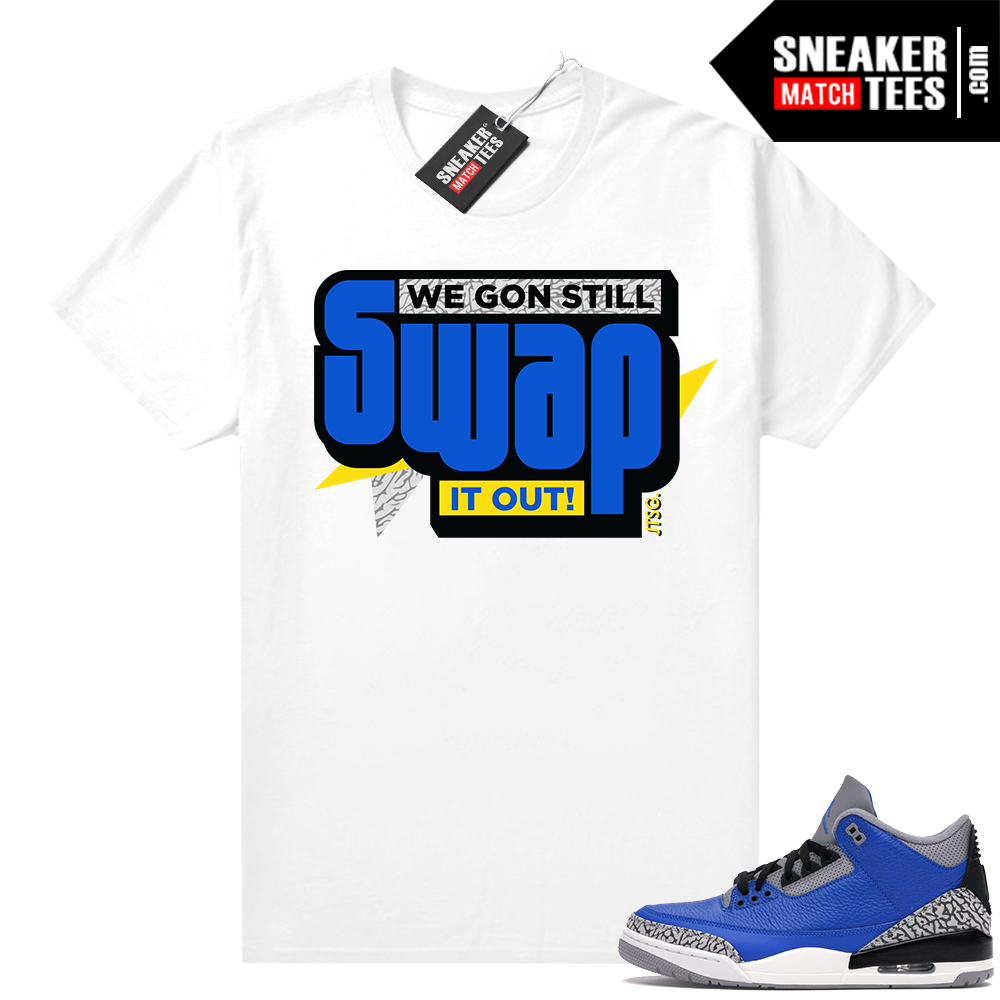 Varsity Blue Cement 3s sneaker outfits