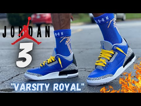 Blue Cement 3s On Feet Review Jay the Sneaker guy