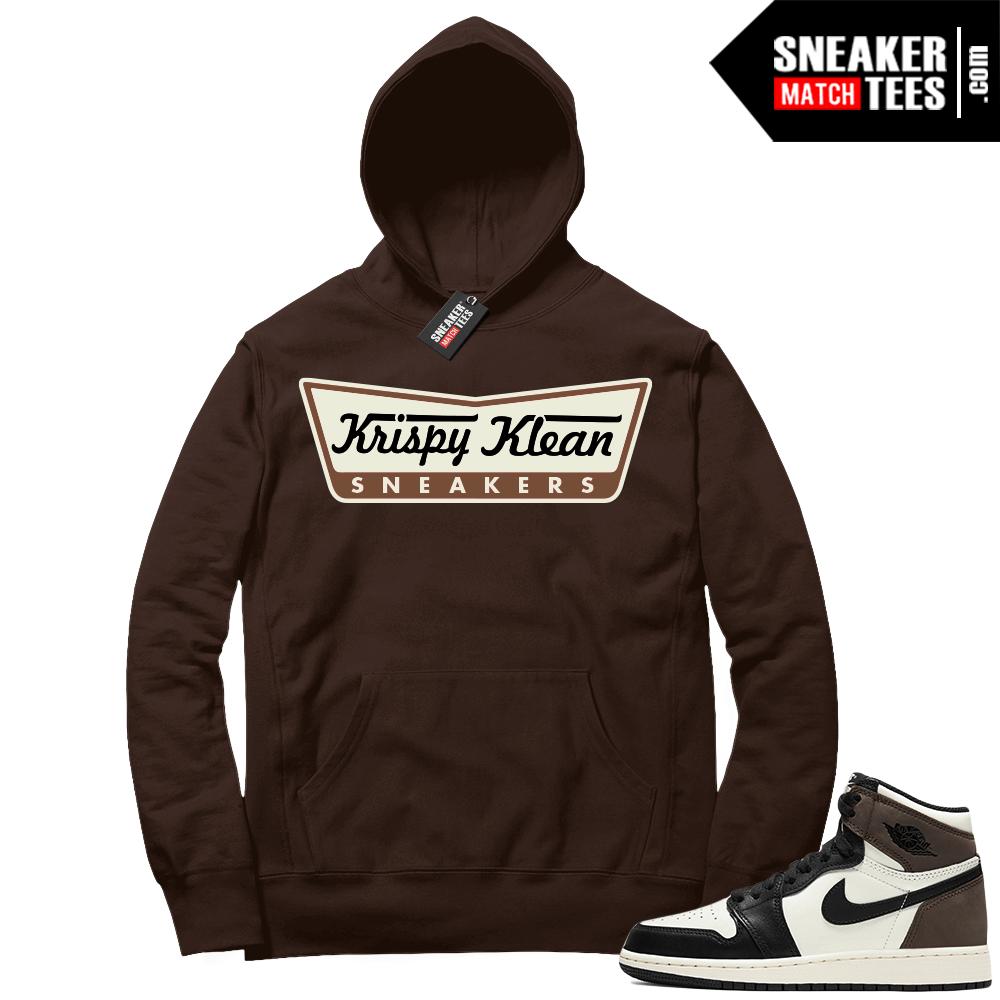 Jordan 1 Mocha Hoodie Krispy Klean Sneakers
