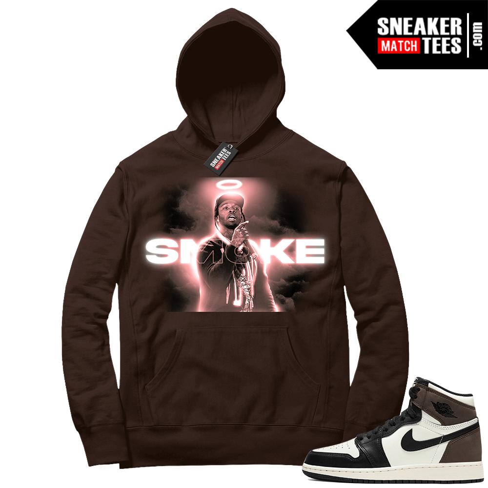 Jordan 1 Mocha Hoodie Pop Smoke