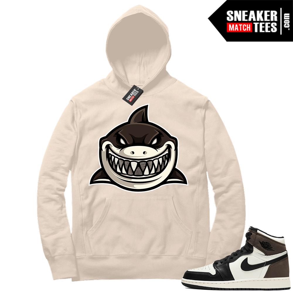 Jordan 1 Mocha Hoodie Sail Shark Gang
