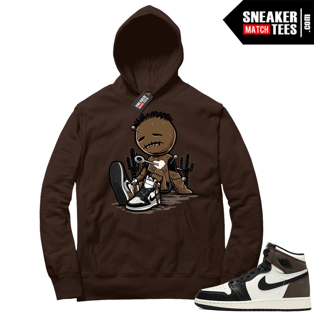 Jordan 1 Mocha Hoodie Sneakerhead Voodoo Doll