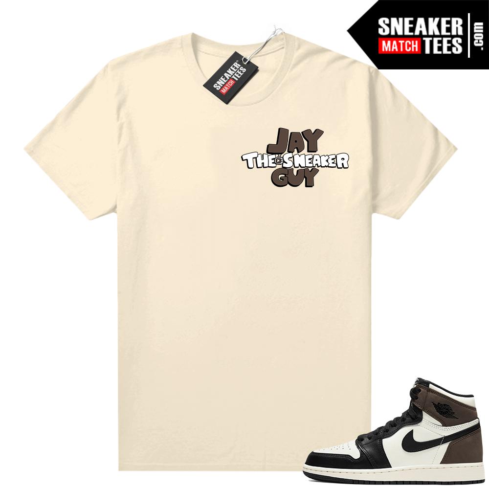 Jordan 1 Mocha shirts Sail Jay the Sneaker Guy