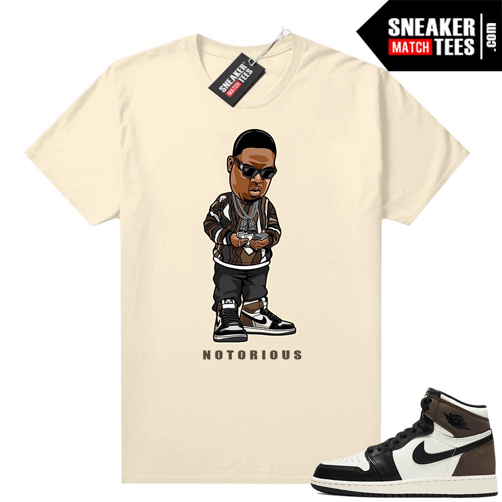 Jordan 1 Mocha shirts Sail Notorious
