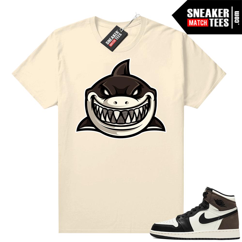 Jordan 1 Mocha shirts Sail Shark Gang