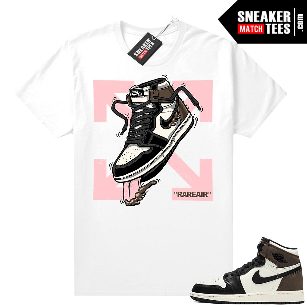 Jordan 1 Mocha shirts White Fly Kicks