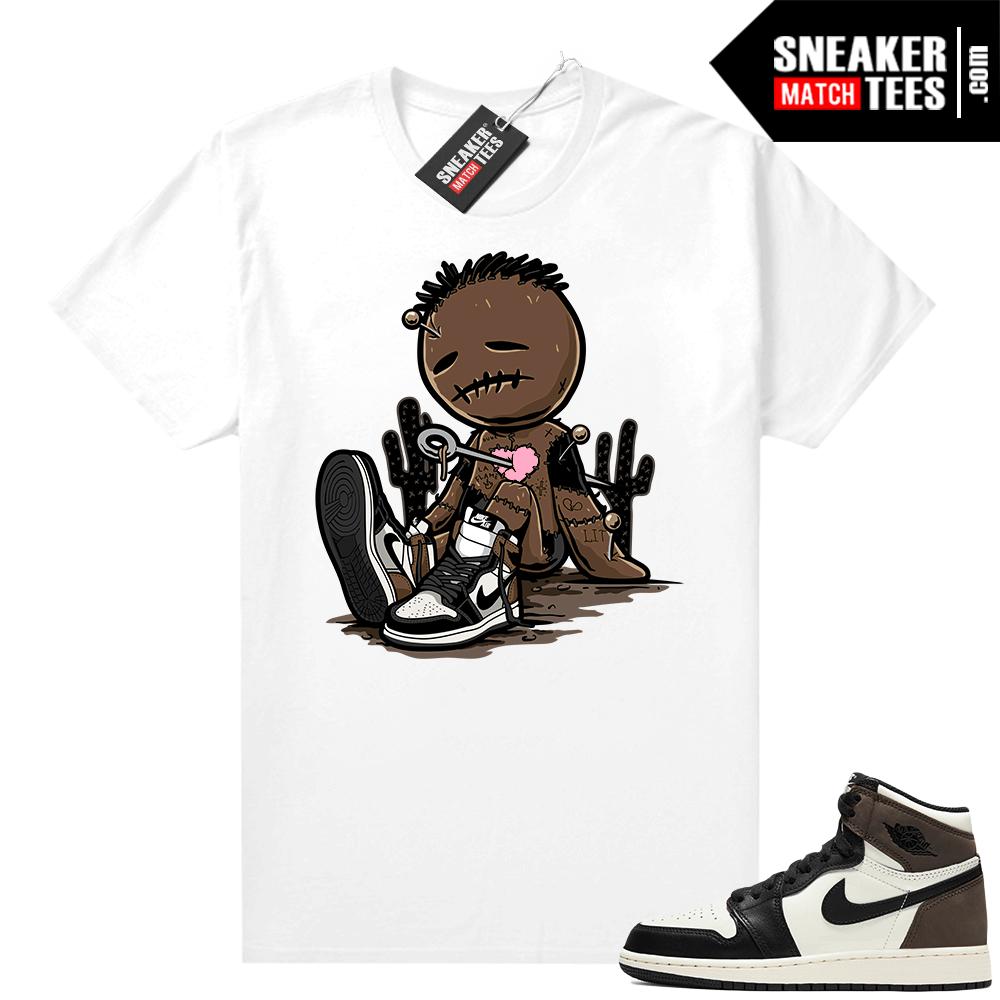 Jordan 1 Mocha shirts White Sneaker Voodoo Doll