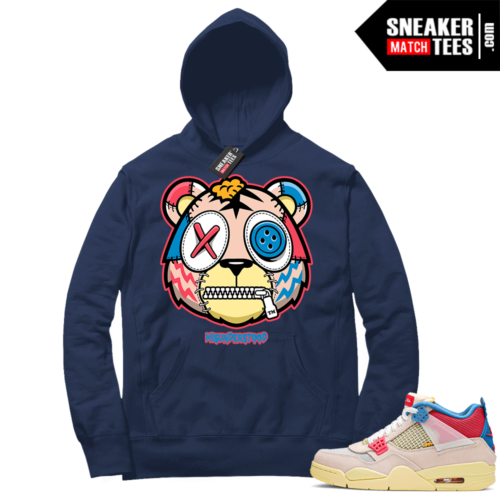 Jordan match sneaker Hoodie Union 4s Guava Ice