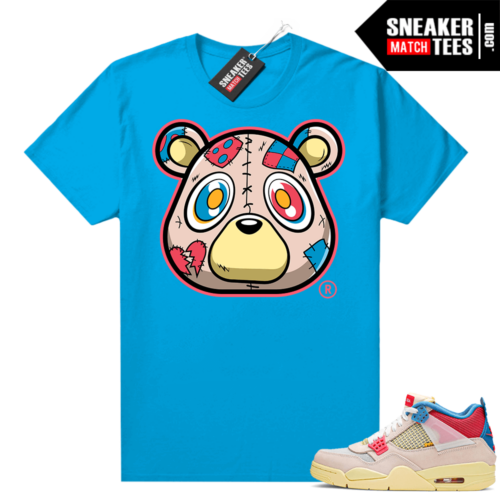 Union 4s Guava Ice shirts to match sneakers