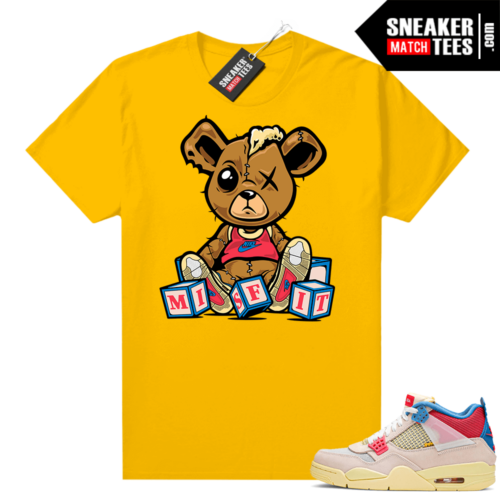 Union 4s Guava Ice sneaker shirts