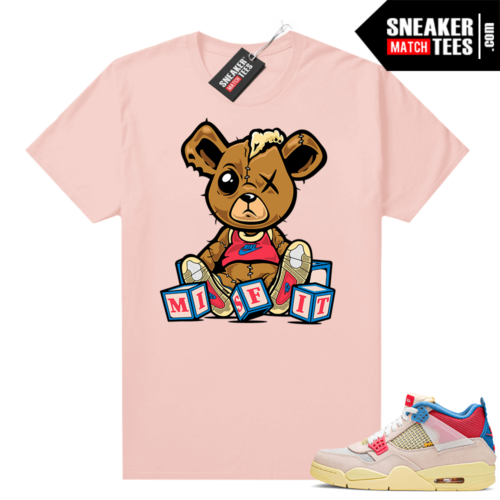 Union 4s Guava Ice shirt outfit